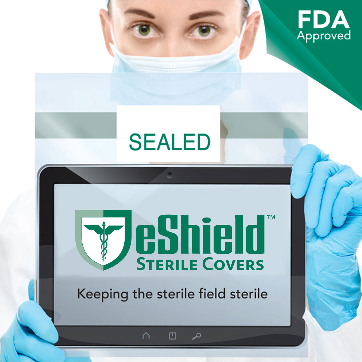 Sterile Electronic Device Handheld Surgical Cover FDA Approved